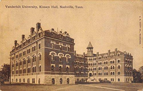 Vanderbilt University, Kissam Hall, Nashville, Tenn. Antique Postcard T2507