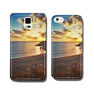 Scenic sea sunrise, Bulgaria cell phone cover case Samsung S6