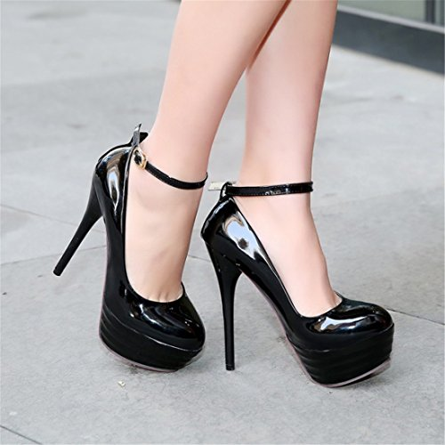 Sexy Korean Tacones Zapatos Las de Zapatos Fashion Sandalette Mujeres black DEDE de Altos los Mujer Tacones Altos Tqc7gBcv