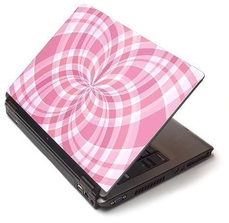 Diseño cuadros rosas - vinilo adhesivo para portátil para Dell Latitude D620/D630 portátiles: Amazon.es: Electrónica