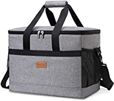 Lifewit Cooler Bag Soft with Hard Liner, Large Insulated Picnic Lunch Bag Box Soft-Sided Cooling Bag for...