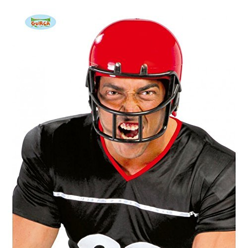 American Football Player Helmet Superbowl Adult Fancy Dress Accessory by Fiesta