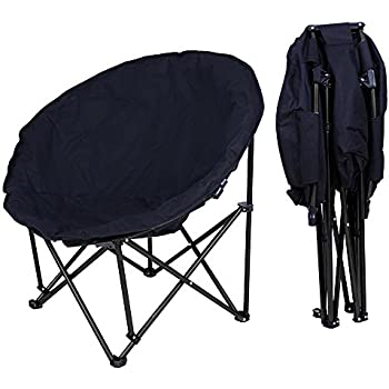 mac at home extra large moon chair with ottoman. yescom oversize folding moon chair saucer padded comfort lounge bedroom garden furniture black seat mac at home extra large with ottoman