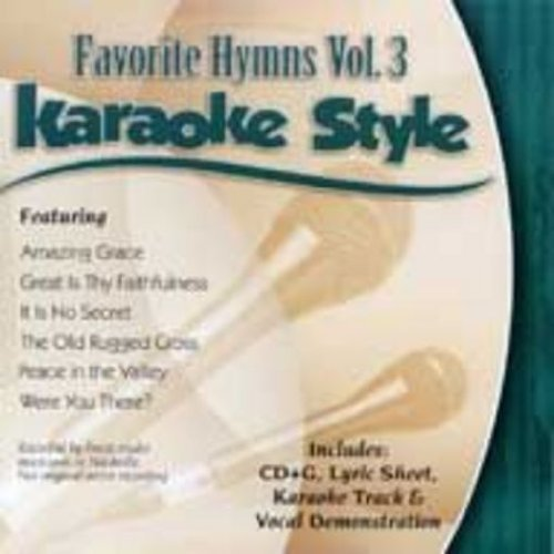 Daywind Karaoke Style CDG #9452 - Favorite Hymns Vol.3 (The Old Rugged Cross Made The Difference Karaoke)