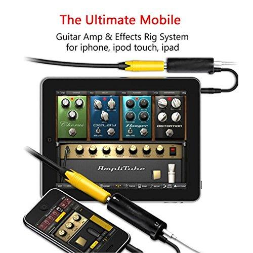 Enlace de conversión de adaptador de interfaz de efectos de guitarra para iPhone, iPad, iPod touch