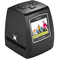 Walmeck-1 Walmeck Scanner, High-Resolution 14MP/22MP Film Scanner Convert 35mm 135mm 126mm 110mm 8mm Color Monochrome Slide Film Negative into Digital Picture with 2.4 Inches LCD Build-in Editing Software