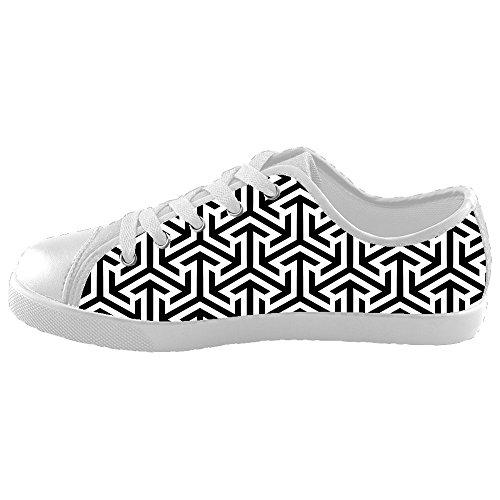 Daniel Turnai Fan Custom Kid's Shoes Shape Pattern New Sneaker Canvas ()