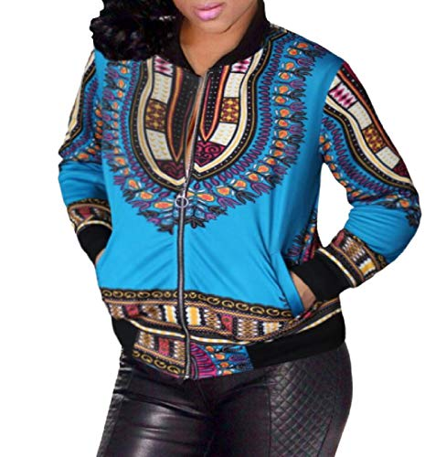 Size Jacket Large Women 1 Pockets Style Varsity Howme African with qcUfEwScx
