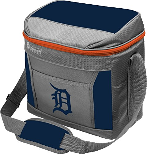 MLB Unisex Coleman 24 Hour - 16 Can Soft Sided Cooler - Detroit Tigers