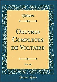 Descargar En Utorrent Oeuvres Completes De Voltaire, Vol. 46 PDF Gratis