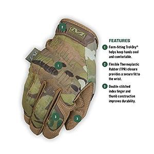Mechanix Wear - MultiCam Original Tactical Gloves (Small, Camouflage)