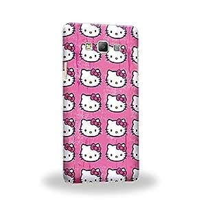 Case88 Premium Designs Hello Kitty Collection 0624 Carcasa/Funda dura para el Samsung Galaxy A7