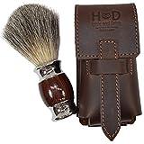 Thick Leather Shaving Barber Brush