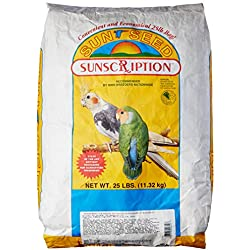Sun Seed Company BSS20610 Vita Mix Daily Diets Cockatiel Food, 25-Pound