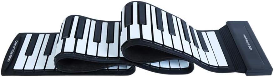 Chnzyr Portátil Teclado Electrónico Piano Mano Ligero E ...