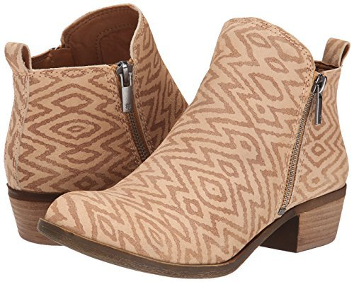 886742404319 - Lucky Brand  Women's Basel Boot, Wheat 05, 6 M US carousel main 4