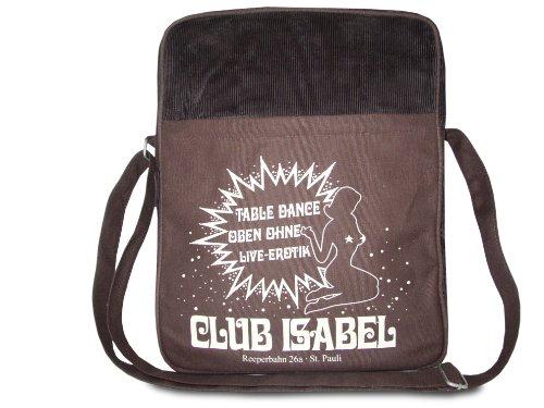 Club Isabel bandolera - La bolsa de mensajero del hombre - Club Isabel - Diseño original con licencia - LOGOSHIRT
