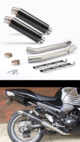 2006-2007 Kawasaki ZX14 Carbon GP Exhaust