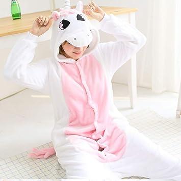 JYLW Pijamas Invierno Mujer Pijamas Unicornio para Mujer ...