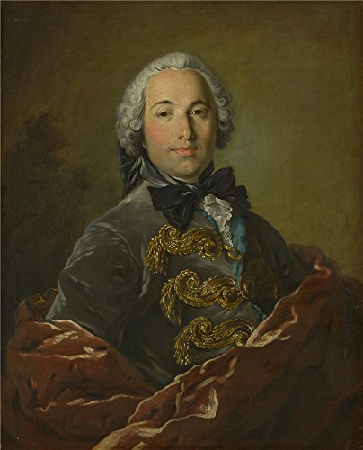 Oil Painting 'Studio Of Louis Tocque Jean Michel De Grilleau', 20 x 25 inch / 51 x 63 cm , on High Definition HD canvas prints is for Gifts And Bath Room, Dining Room And Powder Room Decoration, huge