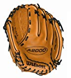 Wilson Dual Hinge Web Saddle Glove, Tan, 12 1/2-Inch (Right Handed)