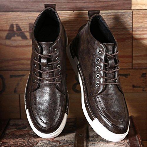 Heren Outdoor Sport Hardloopschoenen Lichtgewicht Casual Sneakers 9013gb Bruin