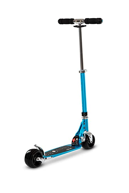 Micro Rocket, Patinete Scooter Adulto Calidad y Diseño Suizo, 2 Ruedas Extra Anchas, Plegado de Doble Cierre.