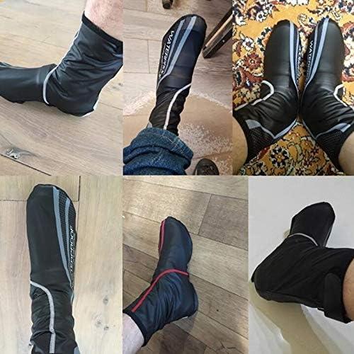 Large LIPPORT Couvre-chaussures de v/élo dhiver pour homme et femme Rouge Rouge