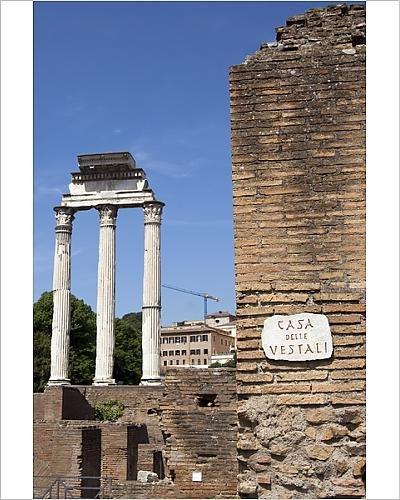 Photographic Print of Forum - Forum Ceasars