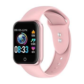 Reloj Inteligente, 1.4 Inch Smartwatch with Monitoreo de presión Arterial, Pulsómetro Impermeable IP68 Pulsera Actividad con Inteligente de Podómetro ...