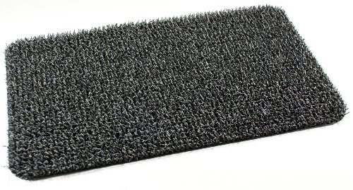 GrassWorx Doormat High Traffic, 18 by 30-Inch, Charcoal