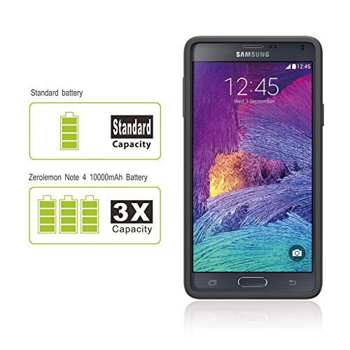 samsung galaxy note 4 extended battery zerolemon samsung import it all. Black Bedroom Furniture Sets. Home Design Ideas