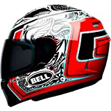 Bell Tagger Splice Adult Qualifier Street Helmet - White/Black/Red / Large