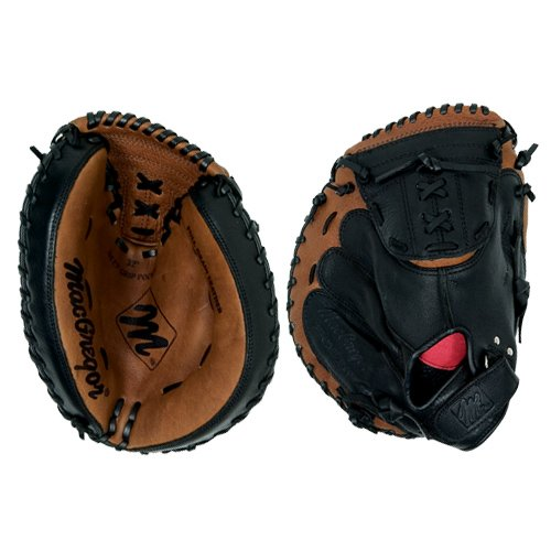 Macgregor Youth Series Catchers Mitt, Fits on the left hand for a righ handed (Design Series Catchers Mitt)