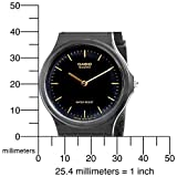 Casio Mens MQ24-1E Black Resin Watch