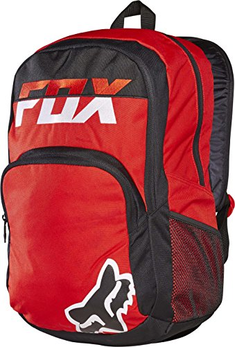 Fox Men's Lets Ride Mako Backpack, Red (Fox Head Backpack)