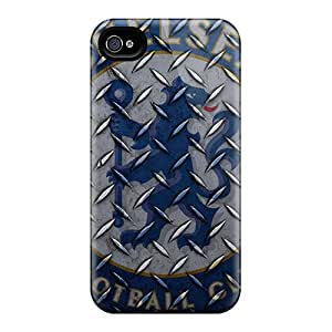 Protective Hard Phone Cover For Apple Iphone 4/4s (aYD7719pmaq) Allow Personal Design High-definition Chelsea Fc 2012 Pictures