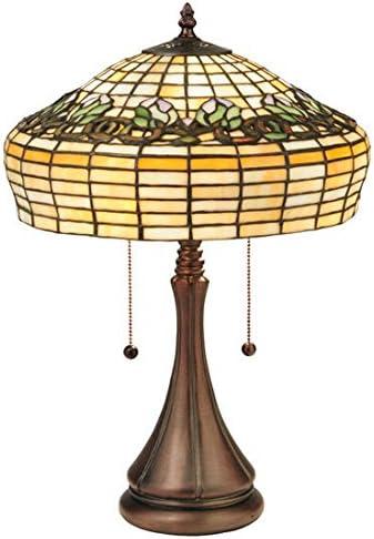 ステンドグラスDuffner & Kimberlyチューリップテーブルランプ