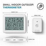 AMIR (Upgraded) Indoor Outdoor Thermometer, 3