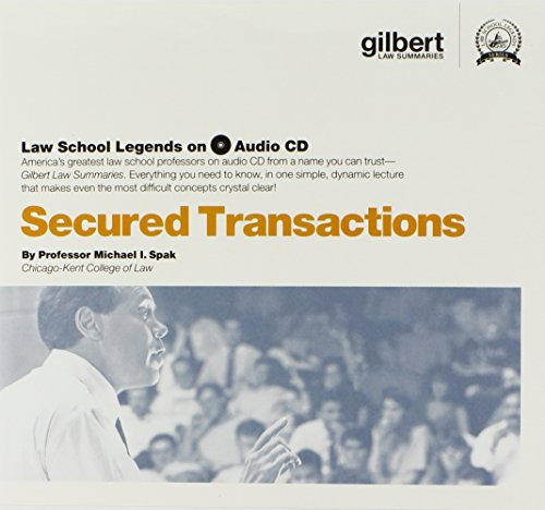 Secured Transactions (Law School Legends Audio Series) by Gilbert