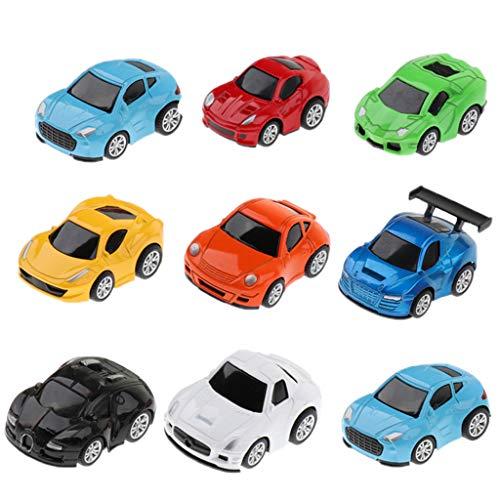 B Baosity 子供 ベビー玩具 車玩具 ミニカー プルバック車 ボーイズ おもちゃ 玩具 全2種類  - 2