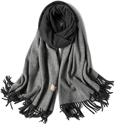 Wolle Plaid Schal Weichen Dicken Warmen Schal Dual Purpose Fashion Winter FüR MäNner Und Frauen KöNnen Frauen Schals & Wraps Verwenden