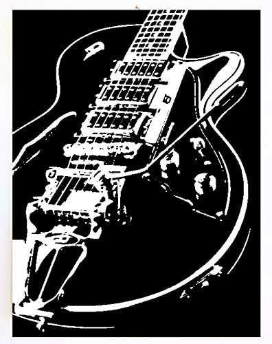 Gibson Limited Edition Guitarra – Marco moderno – cuadro pintado a ...
