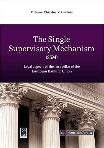 Amazon.com: The Single Supervisory Mechanism (SSM ...