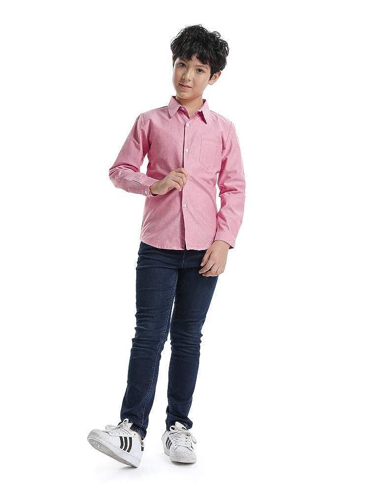 Ochenta Petit Garcon Fille Chemise Manches Longues Coton T Shirt