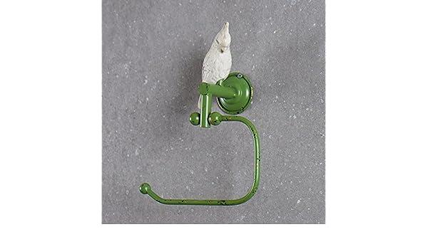 Daadi ¿Retro rústico Viejo Verde Loro de Toallas de baño Toallas Toalla Palanca única Anillo, doblado: Amazon.es: Hogar