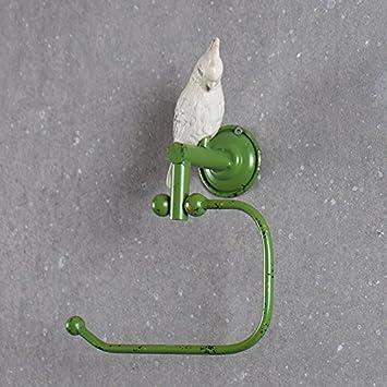 LHbox Tap ¿Retro rústico Viejo Verde Loro de Toallas de baño Toallas Toalla Palanca única Anillo, doblado: Amazon.es: Hogar