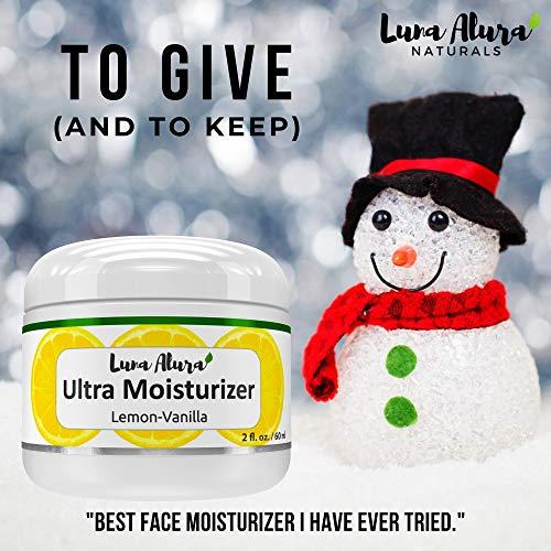 51pNBqOGknL - Luna Alura Face Moisturizer 2 OZ - Natural & Organic Moisturizer for Face, Anti Aging Face Cream, Anti Wrinkle Cream for Women, Lemon Vanilla Scent