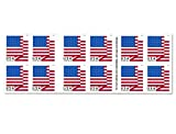 american flag sheets - U.S. Flag - 2018 USPS Forever First Class Postage Stamp U.S. Forever 50 Cents Patriotic American Flag Sheets - Booklet of 20 Stamps (5 - (Booklets of 20 Stamps))