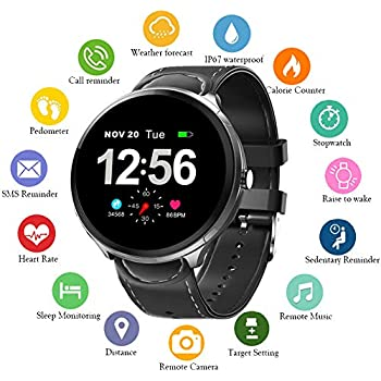 Amazon.com: TURNMEON Smart Watch for Men - Fitness GPS ...
